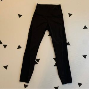 Lululemon size 4 luon 7/8 tights